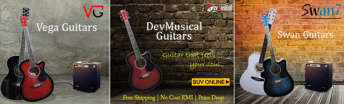 Buy Electric, Acoustic, Classical Guitars on DevMusical