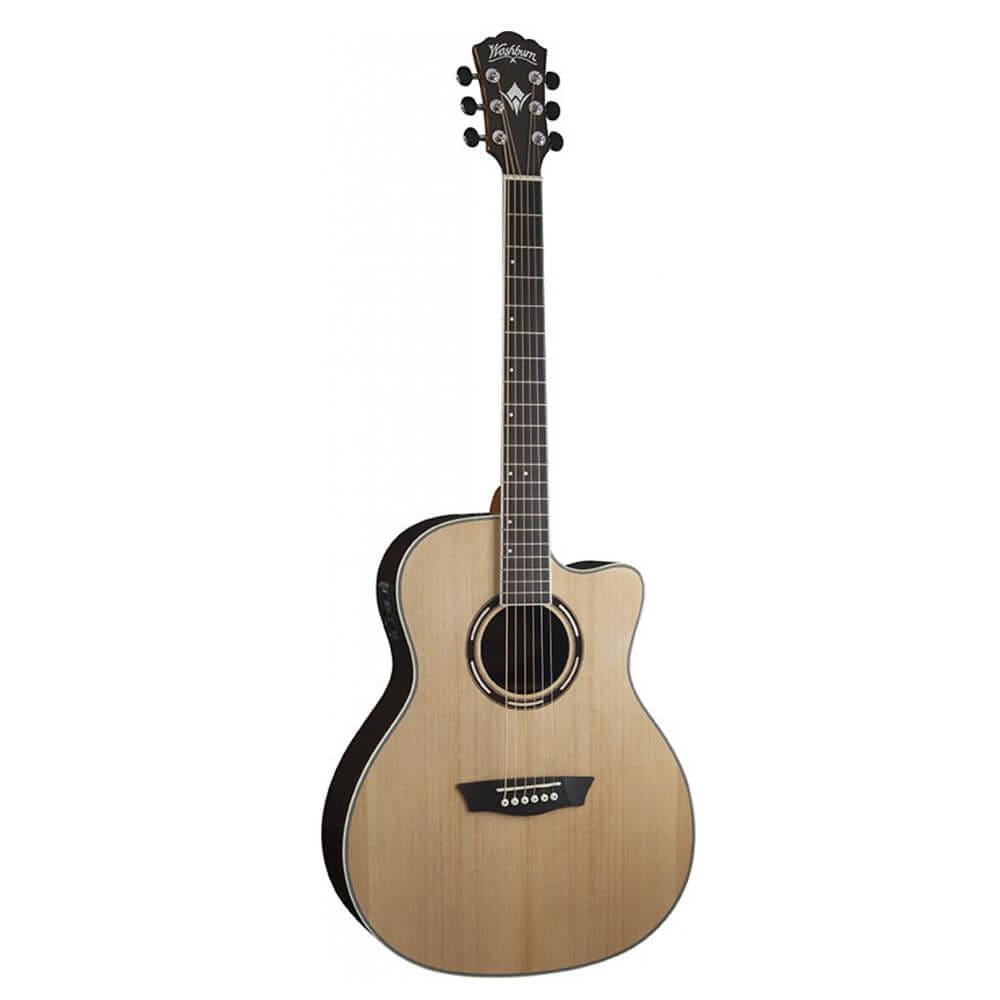 Washburn AG20CEK - Grand Auditorium - Acoustic Electric Guitar   DevMusical