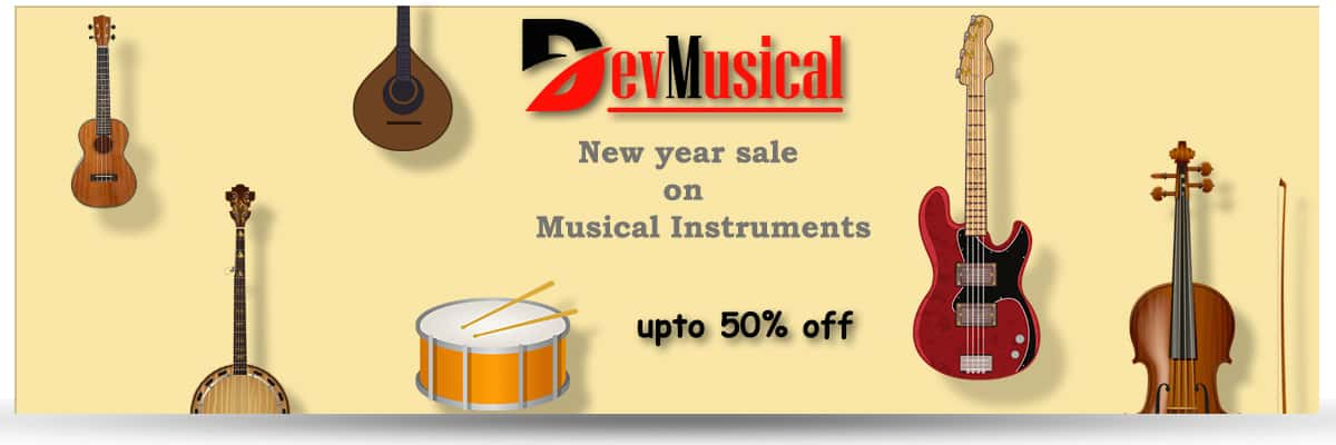 New Year Sale 2021 on Musical Instruments