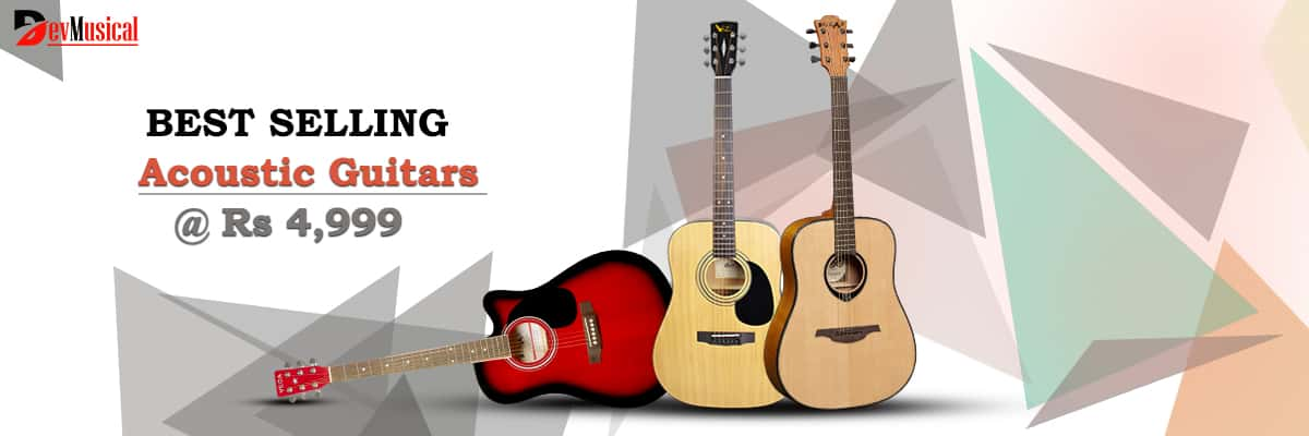 The Best Selling Acoustic Guitars in India 2021