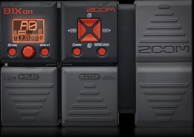 Zoom B1Xon Bass Effect Pedal