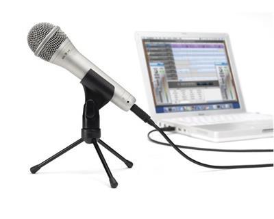 Samson Usb Microphone Q1U-Usb Dynamic Mic W stand Cakewalk