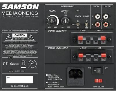 Samson MediaOne 10 S Active Studio Subwoofer