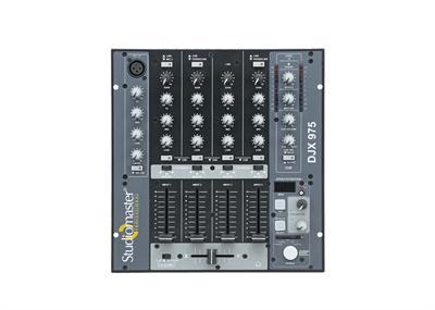 Studiomaster  D J Mixer Djx 975