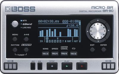 Roland Digital Recorder Br 80