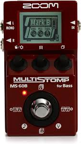 Zoom MS-60B Multi stomp Bass Effect Pedal