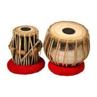 Tabla Set Brass Dugga And Wooden Tabla