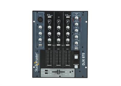 Studiomaster  D J Mixer Djx 875