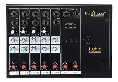 Studiomaster  Min Mixer Basic Cub S