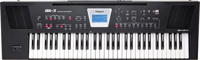Roland Backing Keyboard Bk 3 Bk