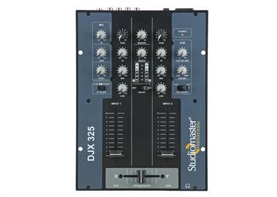 Studiomaster  D J Mixer Djx 325