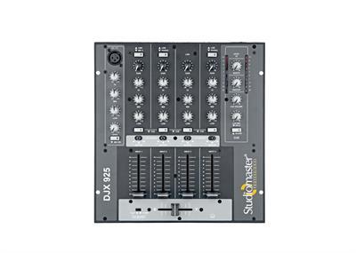 Studiomaster  D J Mixer Djx 925
