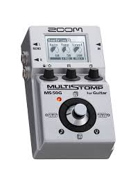 Zoom MS 50G Multi Stomp Guitar Pedal