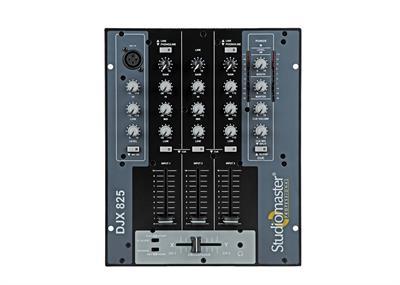 Studiomaster  D J Mixer Djx 825