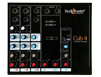 Studiomaster  Min Mixer Cub 4