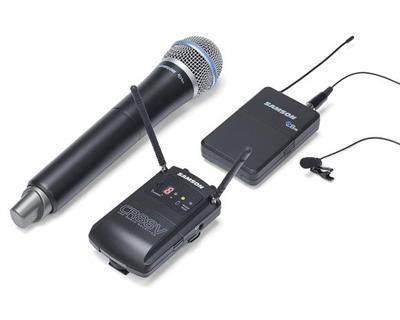 Samson Concert 88 Camera System w Lm 10  lavalier