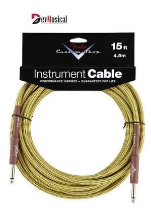 Fender Custom Shop Guitar Cable Tweed 15