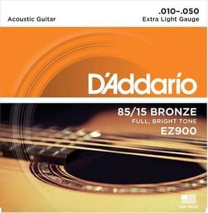 DAddario EZ900 85 15 Bronze Acoustic Guitar Strings