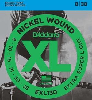DAddario EXL130 Nickel Wound Electric Guitar Strings Set