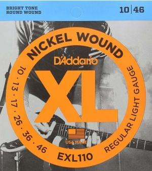 DAddario EXL110 Electric Guitar String Set