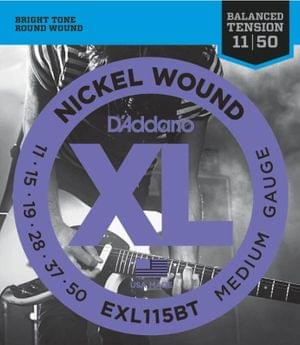 DAddario EXL115BT Electric Guitar String Set