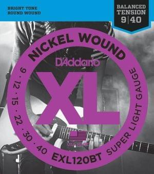 DAddario EXL120BT Electric Guitar String Set