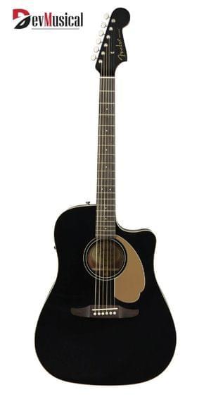 Fender Semi Acoustic Guitar Redondo Player Jetty black