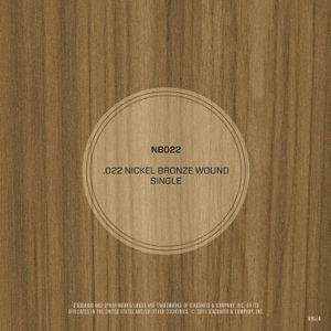DAddario NB022 Nickel Bronze Wound Acoustic Guitar String