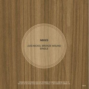 DAddario NB023 Nickel Bronze Wound Acoustic Guitar String