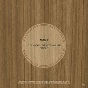 DAddario NB024 Nickel Bronze Wound Acoustic Guitar String