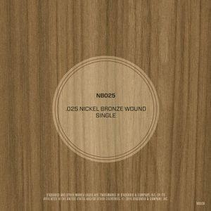 DAddario NB025 Nickel Bronze Wound Acoustic Guitar String