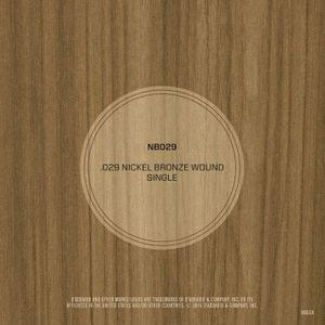 DAddario NB029 Nickel Bronze Wound Acoustic Guitar String