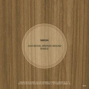 DAddario NB034 Nickel Bronze Wound Acoustic Guitar String
