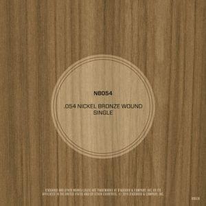 DAddario NB054 Nickel Bronze Wound Acoustic Guitar String