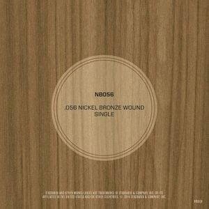 DAddario NB056 Nickel Bronze Wound Acoustic Guitar String