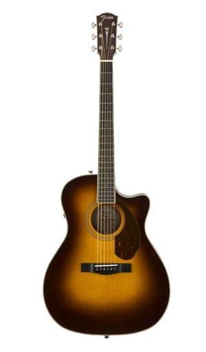 Fender PM4CE VB Semi Acoustic Guitar Auditorium Limited