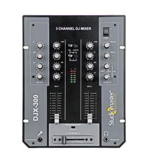 Studiomaster D J Mixer Djx 300