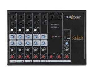 Studiomaster  Min Mixer  Cub 6