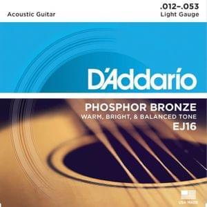 D Addario EJ16 80 20 Bronze Extra Light Acoustic Strings