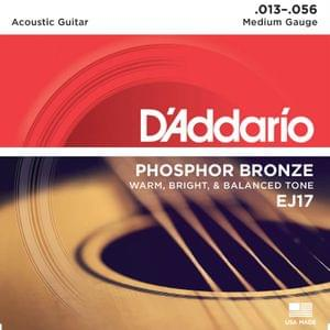 D Addario EJ17 80 20 Bronze Extra Light Acoustic Strings