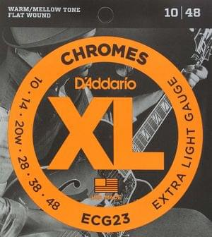 D Addario ECG23 Chrome Extra Light Electric Guitar Strings