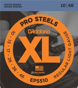 D Addario EPS510 ProSteels Light Electric Guitar Strings