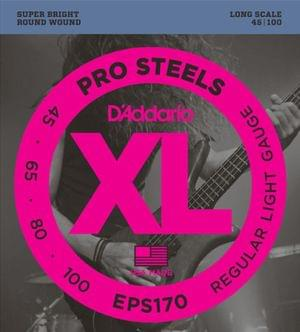 D addario EPS170 ProSteels Light Bass Guitar Strings