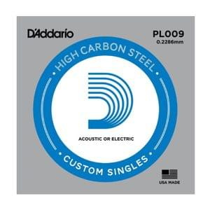 D Addario PL009 Plain Steel Guitar Single String