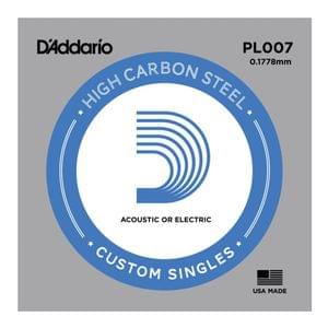 DAddario PL007 Plain Steel String