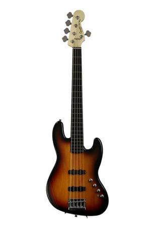 Fender Squier Deluxe Jazz 5 String Active 3TS Bass Guitar