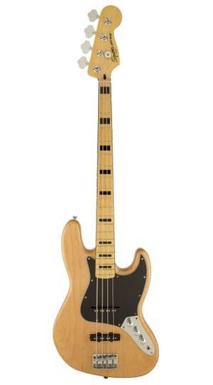 Fender Squier Jazz 70 Vintage Modified Maple NAT Bass Guitar
