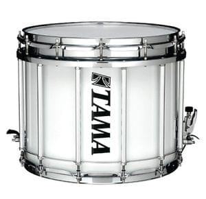 Tama R1412SK WH Marching Snare Drum with Carrier