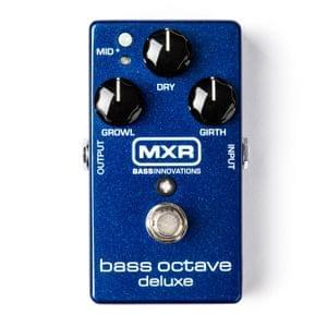Dunlop MXR M288 Bass Octave Deluxe Guitar Effects Pedal