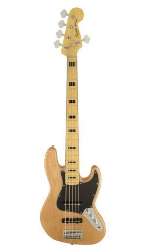 Fender Vintage Modified Jazz Bass V NAT Squier Bass Guitar